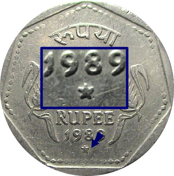 Hyderabad Mint: Star Below the Date