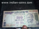 100 rupees note with lucky no 786