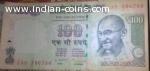 100 Rupees SL NO.786786