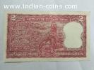 2 rupees tiger wala note