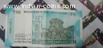 50 Rs indian note with serial no finished with 786