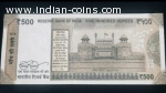 500 Rupee Note 786786