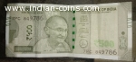 786 ending 500rs note