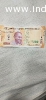 antique Indian 200rs note