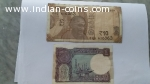 Indian Eleven Luck Omen Ten and One Rupees