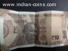 INDIAN Rs.10 RUPEES NOTE NO.786 1 Note only