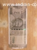 """Luncy Number """"786"""" on note of INR 500"""