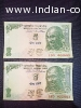 Old 5 rupees notes