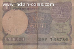 Old 786 One Rupee indian