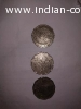 Old Indian coin 2 rupees