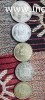 Old indian coins with vashino devi coin