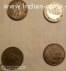 one rupee coin of king George 6