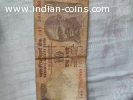 Rs. 10 and Rs. 100 Note with Holy & Facny No. 786009