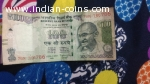 Rs 100 note of 786 number in last