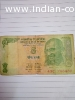 Rs. 5 Note with holy number 786