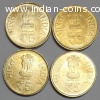 SHRI MATA VAISHNO DEVI coins. All 4 coins for Rs 2 Lakhs.