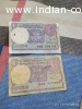 Two One rupee note