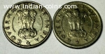 Very very old 1/2 (Adha rupia) - 2 pieces.
