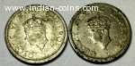 Very very old one rupee - 1947 (Two pieces)