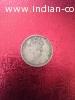 Victoria Empress 1 rupee 1890's coin